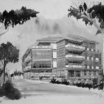4 - Edificio residenziale plurifamiliare in via della Stella, Albano Laziale (RM) - Vista prospettica esterna