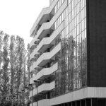 2 - Piano Urbanistico di Esecuzione del Comprensorio Zona D in via Benedetto Croce, Roma; con Studio LDB - Vista esterna del complesso per uffici, abitazioni e negozi