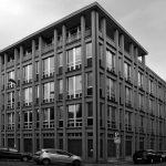 3 - Edificio per uffici in via Arno - via Ombrone, Roma; con G. Sterbini - Vista esterna