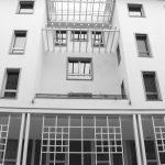40 - Piano di Recupero ed edifici  UMI C7 e UMI H22 a destinazione residenziale e commerciale nel PdR dell'ex area Fiat, Firenze - Novoli - Vista esterna