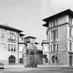 41 - Piano di Recupero dell'ex area Enel per la realizzazione di un complesso polifunzionale - Isolati 1 e 2 in via Leonardo da Vinci, Brescia - Vista esterna