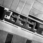 4 - Progetto di complesso scolastico (liceo scientifico, istituto tecnico commerciale, istituto tecnico industriale) in loc. San Salvo, Firenze; con Studio Architetti. Concorso nazionale - Vista zenitale del plastico