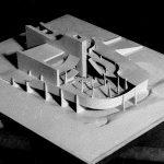 5 - Nuove Chiese e Centri Parrocchiali della Diocesi di Roma; con ing. F. Romanelli. Concorso - Vista del plastico