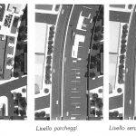 5 - Vista del plastico della piastra attrezzata e dei tre livelli sottostanti di un tratto in corrispondenza di via Latina - Progetto U.R.B.I.S.