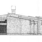 8 - Scuola elementare e media a Tor San Lorenzo, Ardea (RM); con D. Ciocca - Prospetto