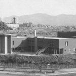 8 - Plessi scolastici nel PdZ 167 di Tor Bella Monaca, Roma; con N. Campanini, D. Ciaffi, F. W. Facilla, R. Giuffrè - scuola elementare comparto 7: vista esterna