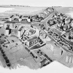 8 - Lottizzazione Murobianco ad Albano Laziale (RM) - Vista prospettica d'insieme