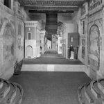 11 - Progetto di ricostruzione della nuova scena prospettica nel Teatro Olimpico di Sabbioneta (MN); con A. Di Noto. Concorso internazionale CEE, vincitore - Vista interna