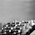 12 - Edificio residenziale a gradoni in via Cassia, Roma - Vista del plastico