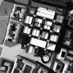 17 - Progetto del Centro Beaubourg a Parigi; capogruppo con altri. Concorso internazionale dei Ministeri dell'Educazione Nazionale e degli Affari Culturali - Vista del plastico