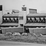1 - Progetto della stazione passeggeri dell'Aeroporto internazionale di S. Eufemia Lamezia (CZ); con P. Moroli (capogruppo), D. De Sanctis, Giancarlo Pennestri, ing. B. Jacino e A. Maffey. Concorso, vincitore e realizzato - Vista esterna