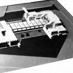 """20 - Progetto di massima della nuova sede operativa ASA - Assistenza Servizi Aeroportuali all'interno dell'Aeroporto """"Leonardo da Vinci"""", Fiumicino (RM) - Vista del plastico"""