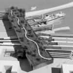 20 - Progetto della nuova stazione ferroviaria di Villa San Giovanni (RC), per Centostazioni SpA; con M. Esposito e C. Sottile - Render