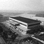 22 - Hangar per ricovero veicoli Boeing 707 e Lock heed C-130J negli aeroporti dell'Aeronautica Militare di Pratica di Mare (RM) e Pisa - Vista aerea