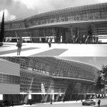 24 - Progetto di stazione passante per l'Alta Velocità a Chiusi (SI); con R. Magagnini e C. Pediconi - Render