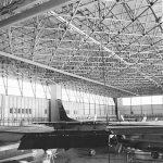 23 - Hangar per ricovero veicoli Boeing 707 e Lock heed C-130J negli aeroporti dell'Aeronautica Militare di Pratica di Mare (RM) e Pisa - Vista interna