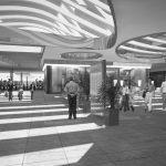 24 - Progetto per lo sviluppo commerciale della stazione ferroviaria di Milano - Cadorna; con L. Todaro - Render