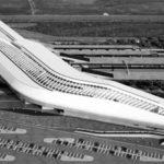 29 - Sviluppo del progetto costruttivo in BIM - BIM Final Draft della nuova stazione alta velocità di Afragola (NA); progetto Zaha Hadid; in corso di realizzazione - Vista aerea 3D