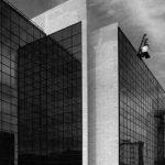 2 - Progettazione di edificio per l'ampliamento dei servizi tecnico-operativi del Ministero dell'Aeronautica in via dell'Università, Roma - Vista esterna