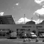 5 - Progettazione del mercato generale e parcheggio interrato, Sassari; in collaborazione - Vista della piazza