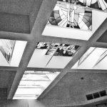 """6 - """"Opere d'arte per il nuovo carcere di Perugia, Sezione scultura e vetrate artistiche"""". Concorso, progetto premiato - Vista interna"""