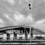 6 - Progetto di complesso polifunzionale con centro commerciale, parcheggio sotterraneo, servizi di riqualificazione delle aree e collegamento con la fermata Metro Arco di Travertino, Roma; in collaborazione - Vista esterna