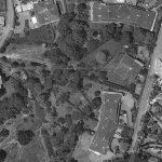 8 - II complesso di due ville e due edifici accessori isolati per complessive 10 unità abitative in zona G3 in via dell'Ospedaletto Giustiniani, Roma - La Giustiniana - Vista aerea