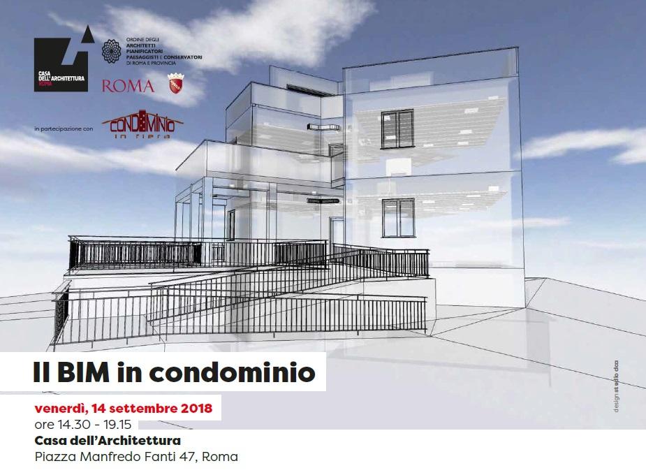 Il bim in condominio ordine degli architetti di roma for Roma ordine architetti