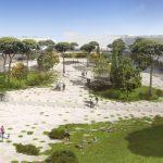Lotto 1 Viale della XVII Olimpiade progetto vincitore (progettisti: Stipa, Capitani, Lanzetta, Stopponi)