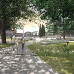 Lotto 2 Piazzale del Verano progetto vincitore (progettisti: Clementini, Bertolazzi, Del Favero, Giusti)